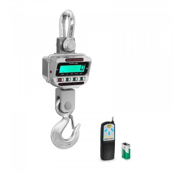 Koukkuvaaka - 10 t / 2 kg - LCD - nosturivaaka