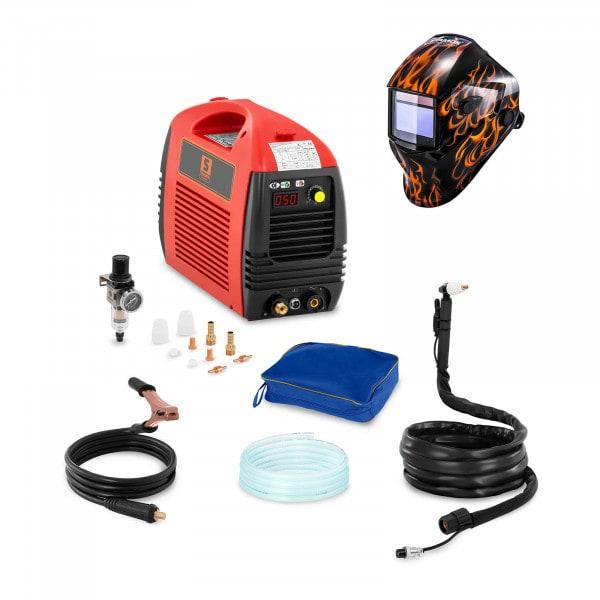 Hitsaussetti Plasmaleikkuri - 50 A - 230 V - basic + Hitsausmaski – Firestarter 500 – ADVANCED SERIES