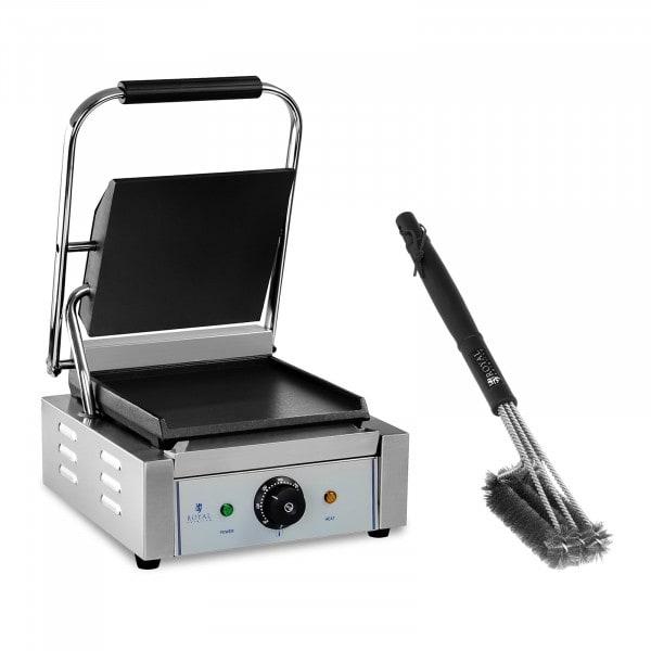 Parilagrilli- ja grilliharjasetti- 1 800 W - sileä