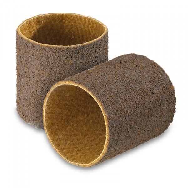 Hiomanauhasarja, 2 kpl - nylon-kuituhiomanauha - karkea