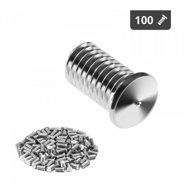 Hitsauspultit - M5 - 10 mm - RST - 100 kpl