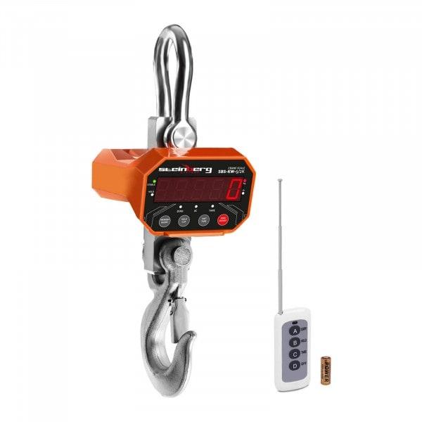 Koukkuvaaka - 5 t / 2 kg - LED