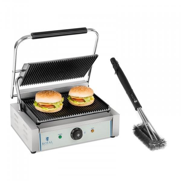 Parilagrillisarja grilliharjalla - 2 200 W - uritettu