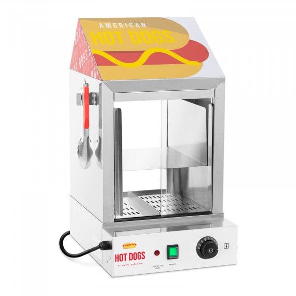 Hot Dog - höyrystin - 100 makkaralle - 25 sämpylälle - 1000 W