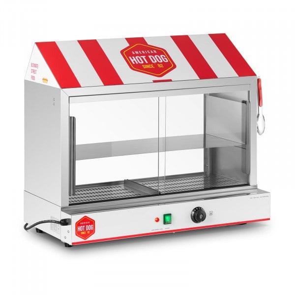 Hot Dog - höyrystin - 300 makkaralle - 100 sämpylälle - 2400 W