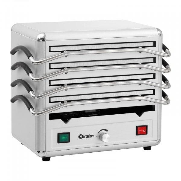 Bartscher Lämpölevylämmitin - 5 levyä ruoan lämpimänä pitoon