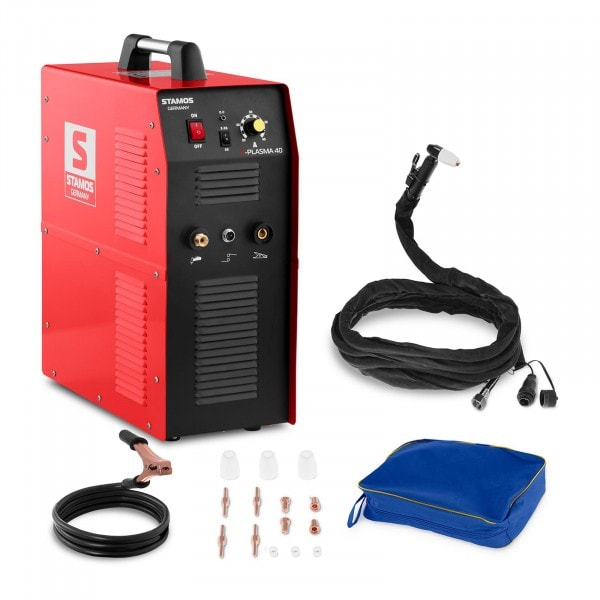 Plasmaleikkuri – 40 A – 230 V – integroitu paineilmakompressori