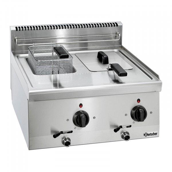Bartscher Rasvakeitin 600 - B 600mm - 2x 6 litraa