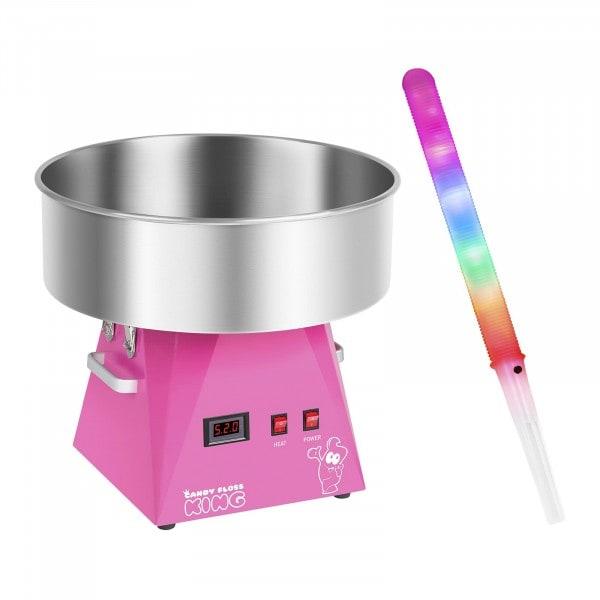 Hattarakone ja LED-valotikku - 52 cm - 1 030 W - 50 kpl