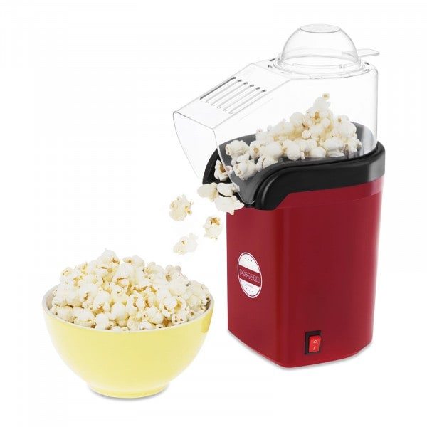 Popcorn-kone - punainen