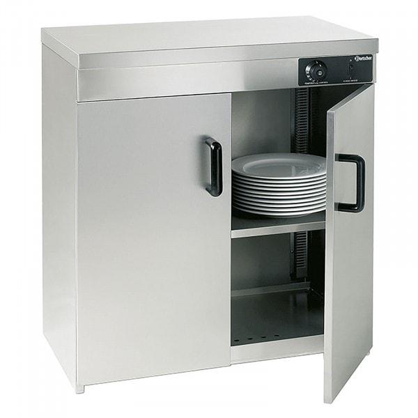Gesamtansicht von Bartscher Wärmeschrank - 2 Türen - für 110-120 Teller