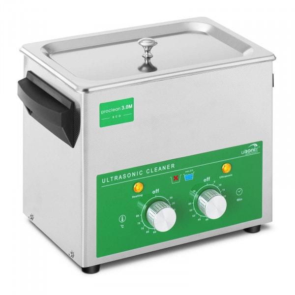 Ultraäänipesuri - 3 litraa - 80 W - Basic Eco