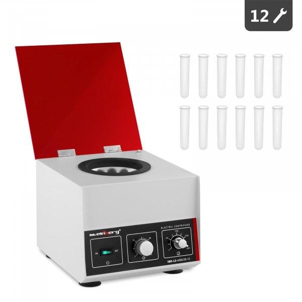 Sentrifugi - pöytämalli - 12 x 20 ml - RCF 1150 g