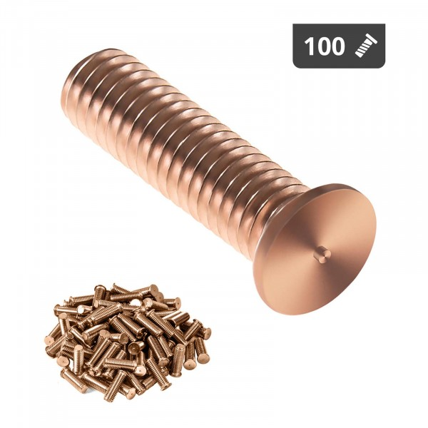 Hitsauspultit - M3 - 12 mm - teräs - 100 kpl