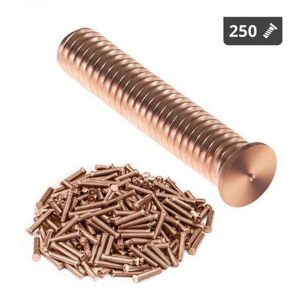 Hitsauspultit - M6 - 30 mm - teräs - 250 kpl