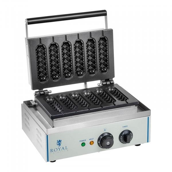Vohvelirauta - 1 550 wattia - kahva - maissinakeille