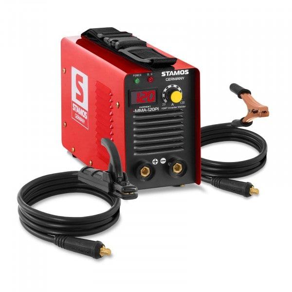 Puikkohitsauskone - 120 A - Hot Start - LED-näyttö