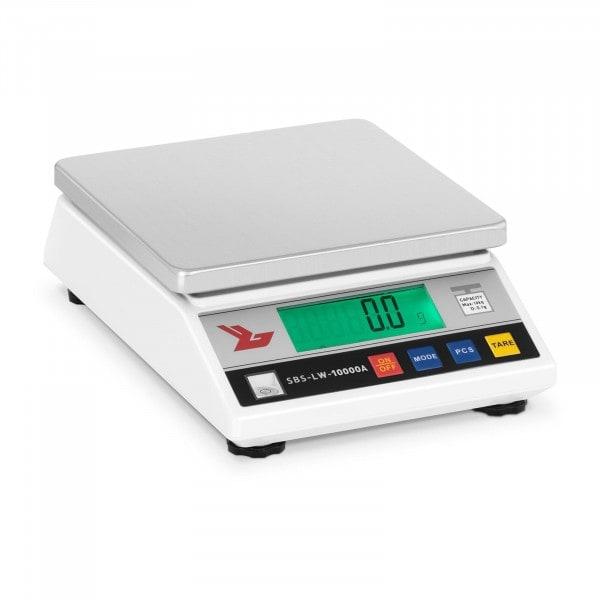 Tarkkuusvaaka - 10 000 g / 0,1 g - LCD