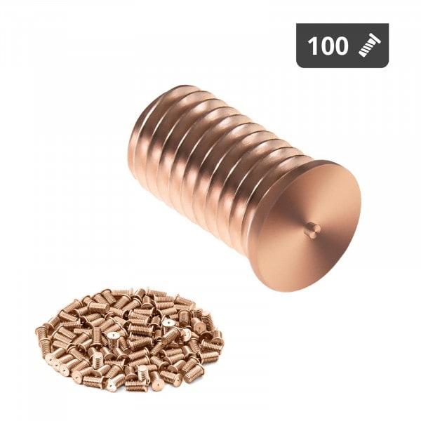 Hitsauspultit - M8 - 16 mm - teräs - 100 kpl