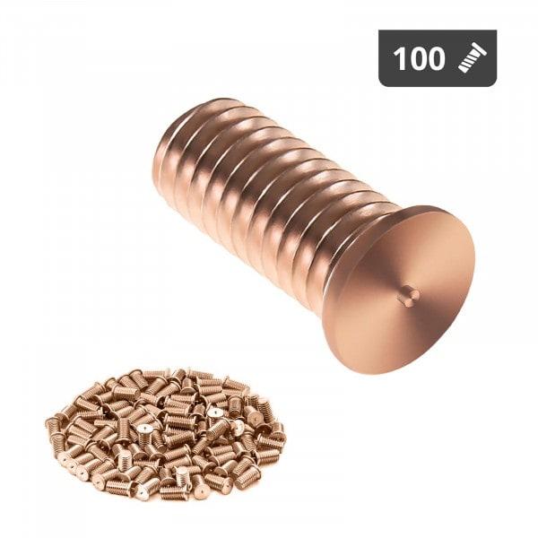 Hitsauspultit - M4 - 10 mm - teräs - 100 kpl