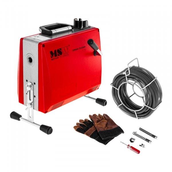 Viemärinavauskone 390 W 400 r/min Ø 30 – 100 mm putkistoille
