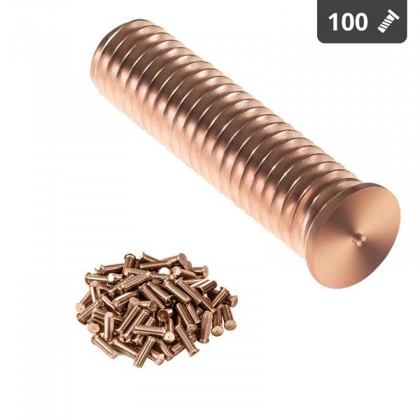 Hitsauspultit - M10 - 40 mm - teräs - 100 kpl