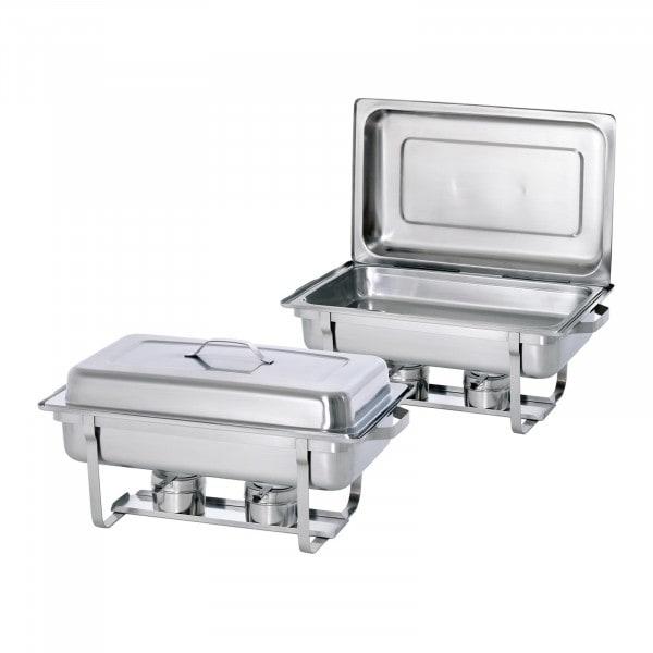 Bartscher Lämpöhaude - 1/1 GN - Twin Pack Set