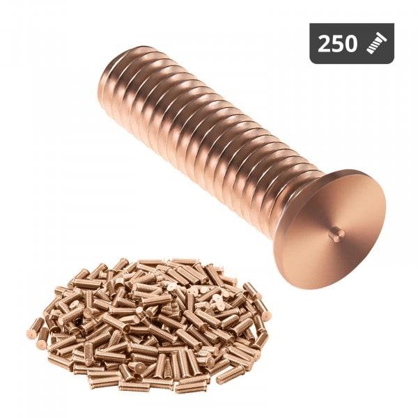 Hitsauspultit - M3 - 12 mm - teräs - 250 kpl