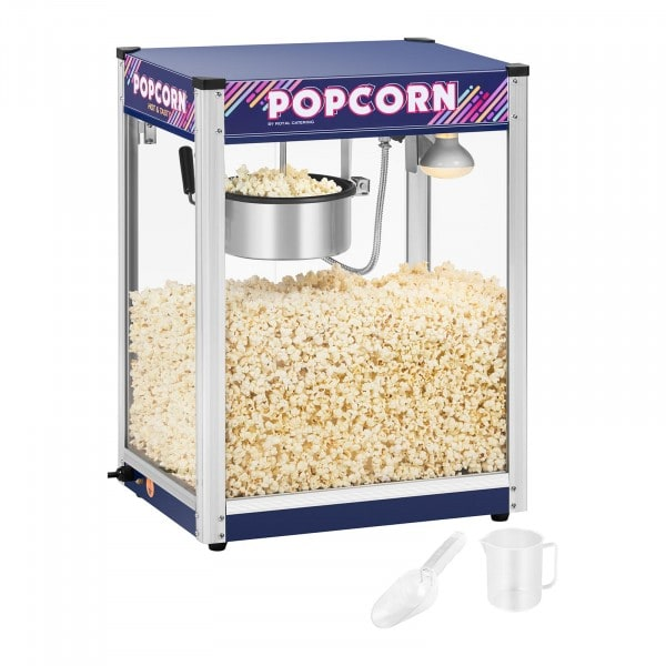 Popcorn-kone, sininen - 8 oz