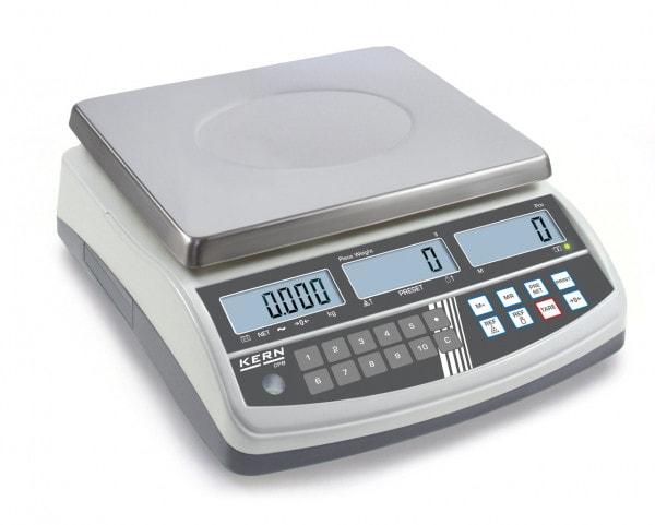 KERN Kappalelaskuvaaka CPB - 6000 g / 1 g - myös varmennettuna