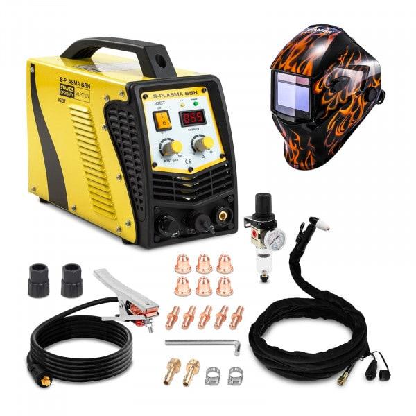 Hitsaussetti Plasmaleikkuri - 55 A - 230 V - kontaktisytytys + Hitsausmaski – Firestarter 500 – ADVANCED SERIES