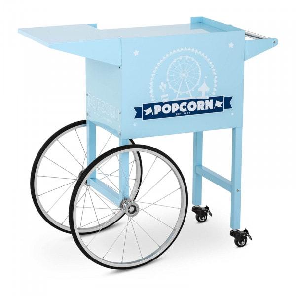 Popcorn-koneen kärry - sininen
