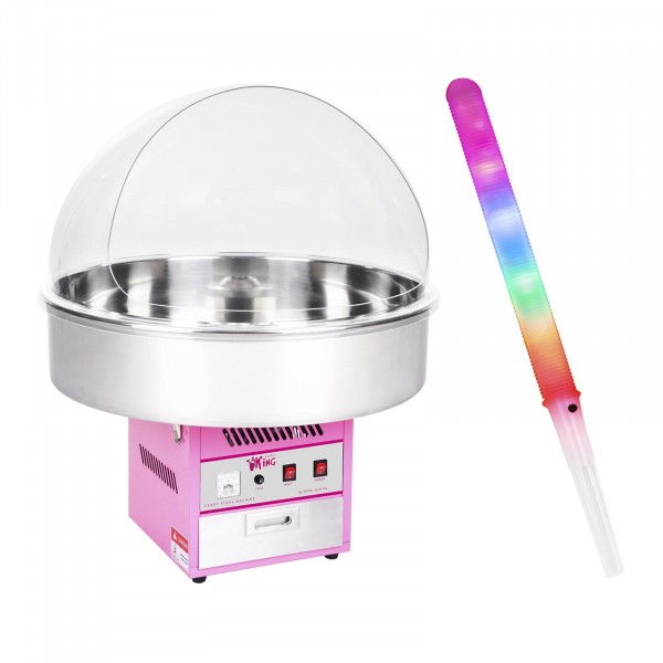 Hattarakonesetti - suojakupu ja LED-valotikku - 72 cm - 1 200 W - 50 kpl