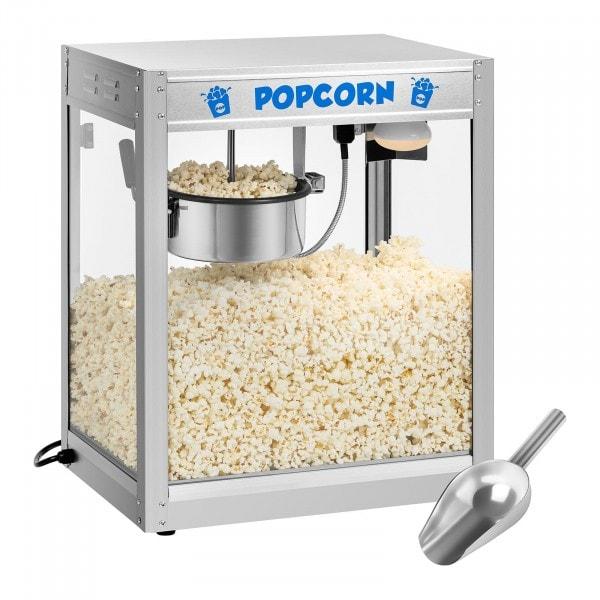 Popcorn-kone - ruostumaton teräs