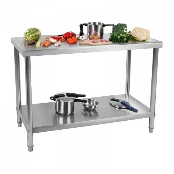 RST työpöytä - 100 x 60 cm - roiskelevy - 114 kg kantavuus