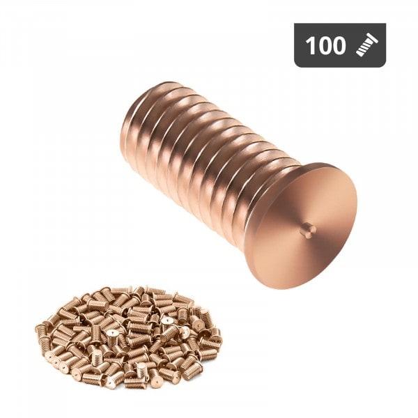 Hitsauspultit - M5 - 12 mm - teräs - 100 kpl