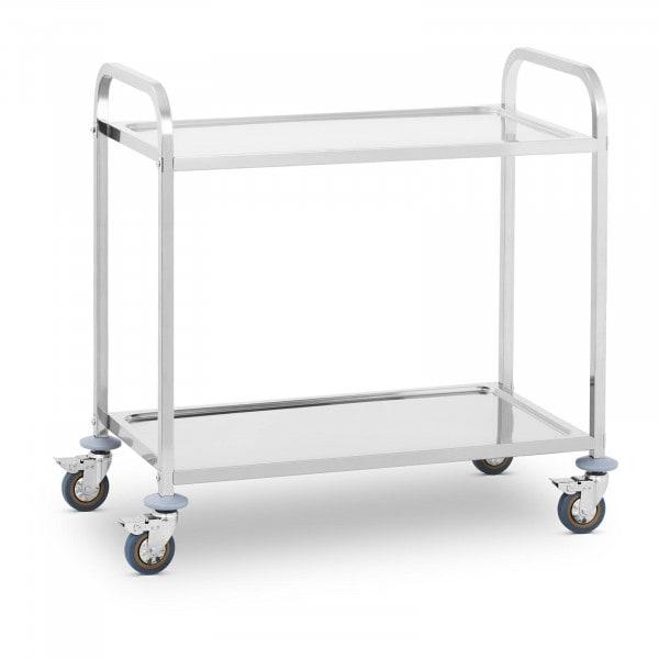 Tarjoiluvaunu - 2 tasoa - jopa 320 kg