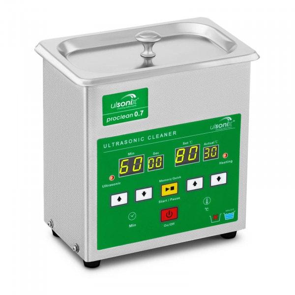 Ultraäänipesuri - 0,7 litraa - Memory Quick