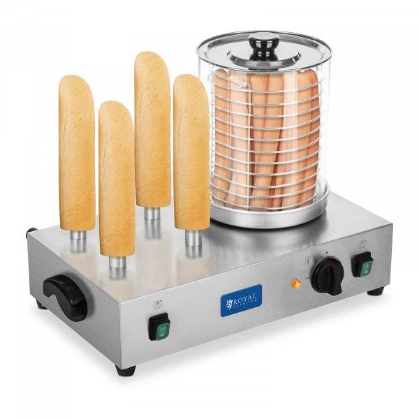 Hot-dog -kone - sis. sämpylänpaahtopiikit - makkarahöyrystin