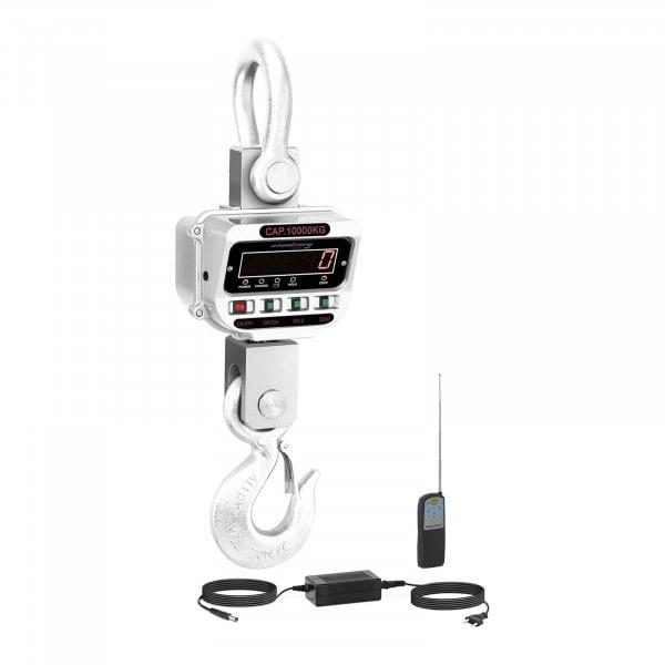 Koukkuvaaka - 10 t / 2 kg - LED - nosturivaaka