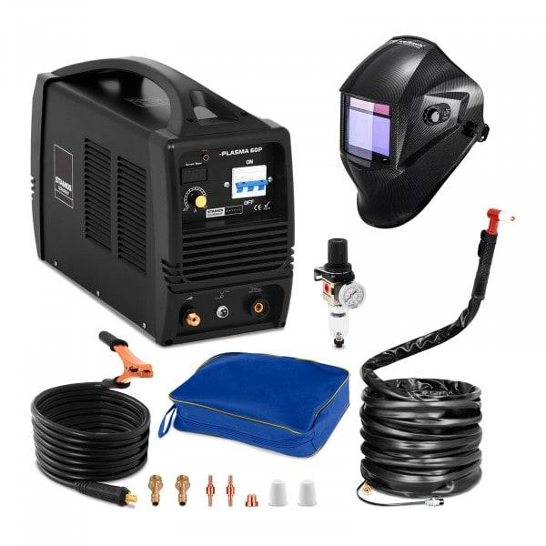 Hitsaussetti Plasmaleikkuri - 60 A - 400 V + Hitsausmaski – Carbonic – PROFESSIONAL SERIES
