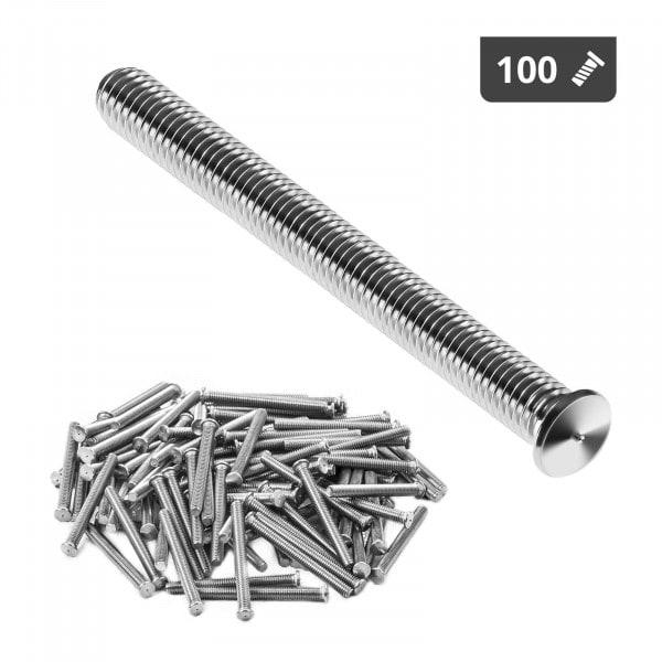 Hitsauspultit - M4 - 40 mm - RST - 100 kpl