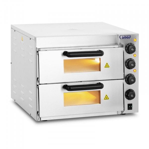 Pizzauuni - 2 osainen - samottikivipohja