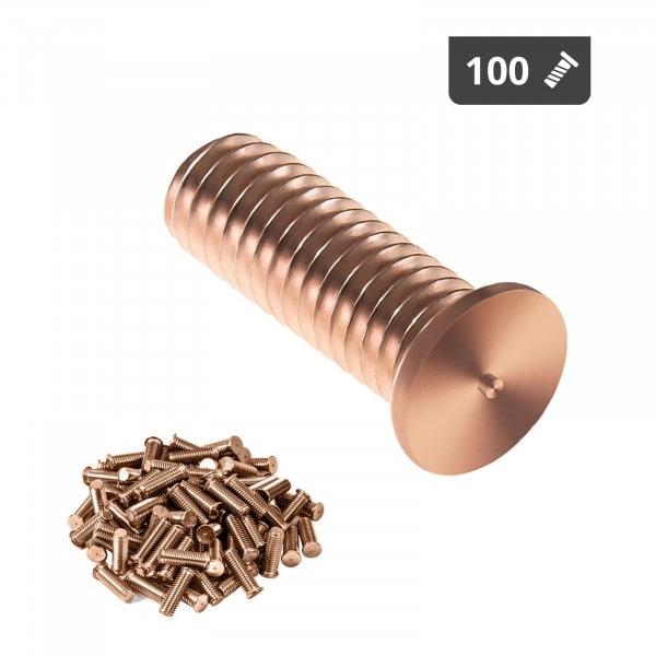 Hitsauspultit - M3 - 10 mm - teräs - 100 kpl