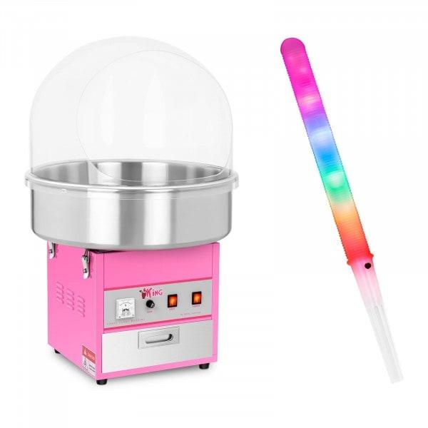 Hattarakonesetti - suojakupu ja LED-valotikku - 52 cm - 1 200 W - 50 kpl