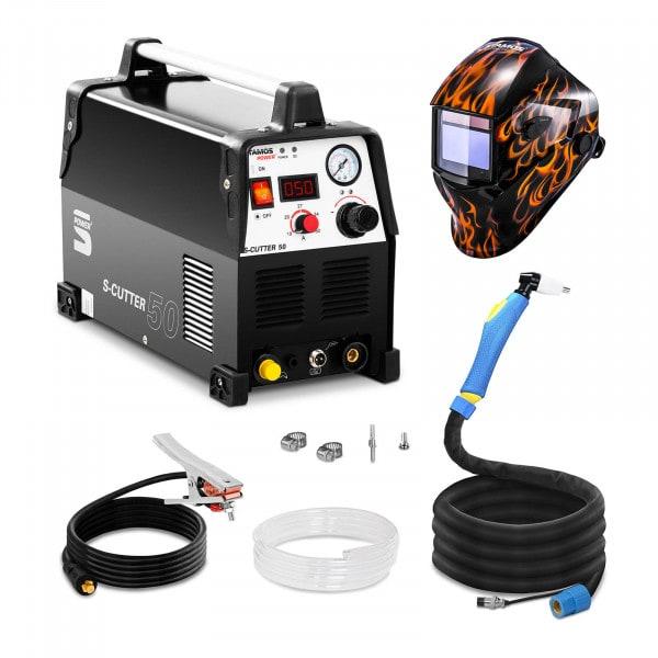 Hitsaussetti Plasmaleikkuri - 50 A - 230 V - Pro + Hitsausmaski – Firestarter 500 – ADVANCED SERIES