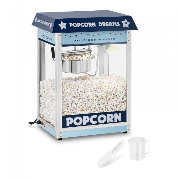 Popcorn-kone - sininen