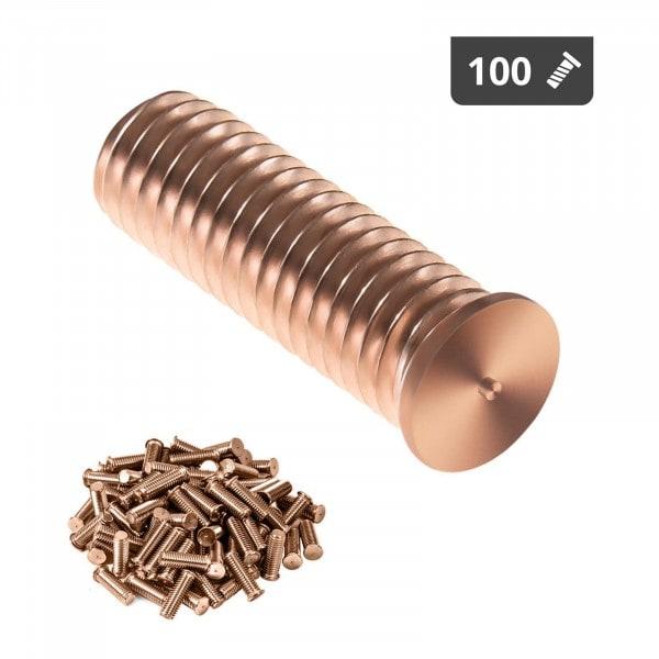 Hitsauspultit - M8 - 25 mm - teräs - 100 kpl