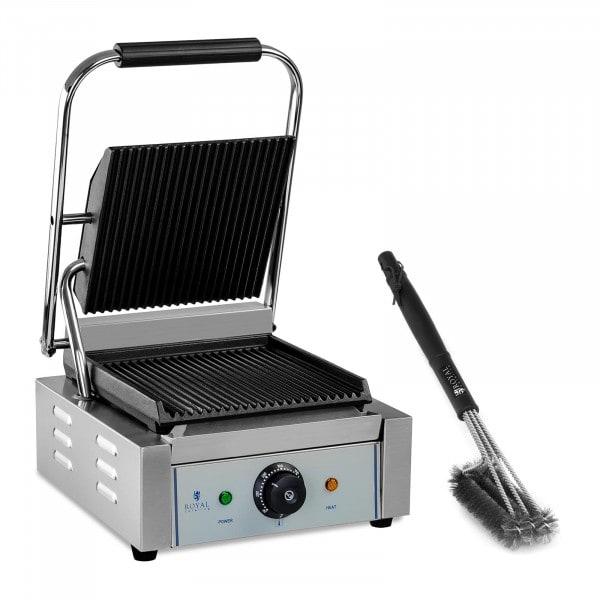Parilagrillisarja grilliharjalla - uritettu - 1 800 W