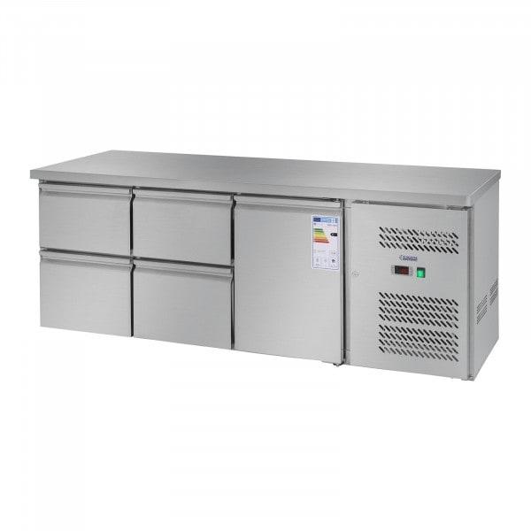 Kylmävetolaatikosto - 403 l - yksi ovi - 4 vetolaatikkoa